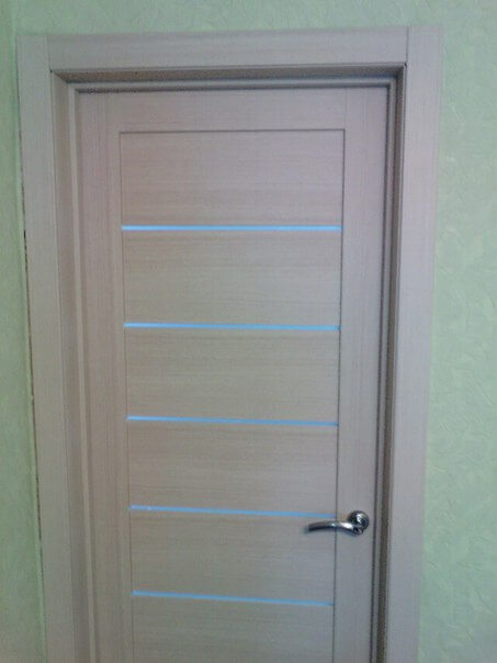 наши работы установка дверей рязань