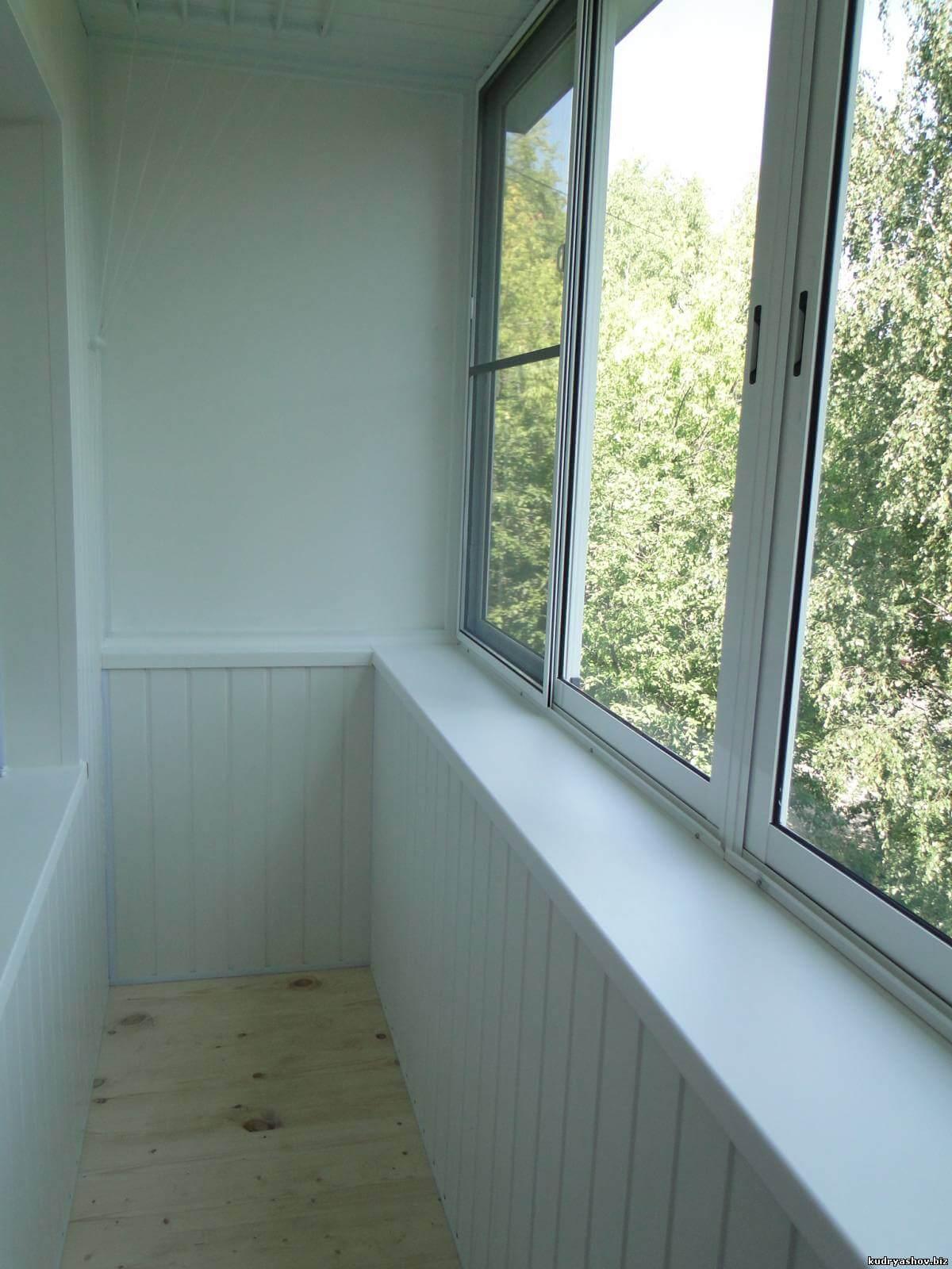 Отделка балконов рязань.