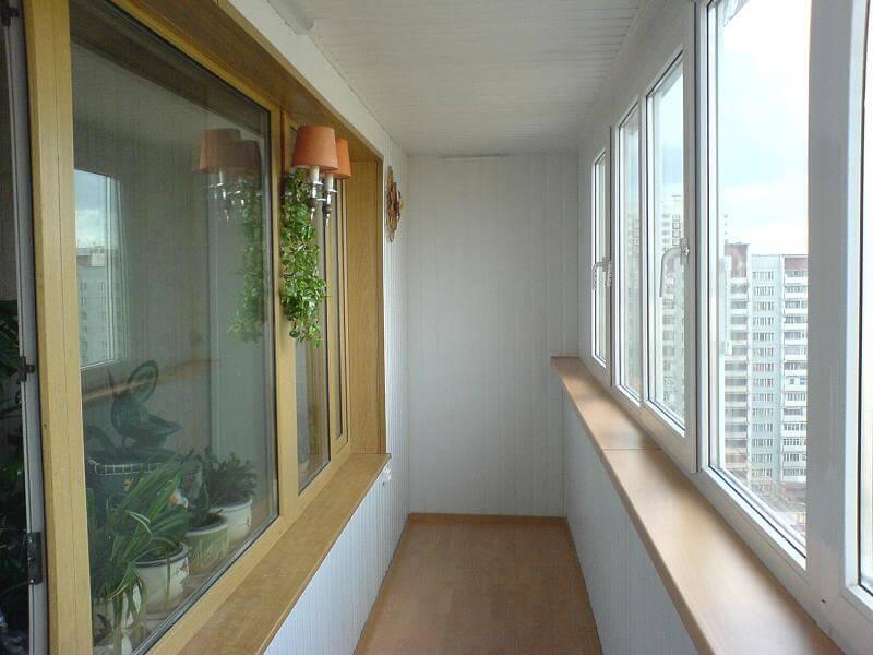 отделка балконов рязань