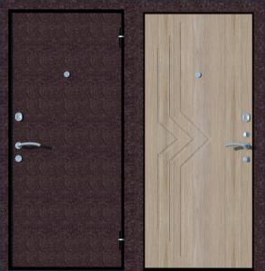 металлические двери стандарт 2
