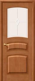 межкомнатная дверь м16 по светлый лак