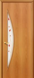 межкомнатная дверь 5п миланский орех
